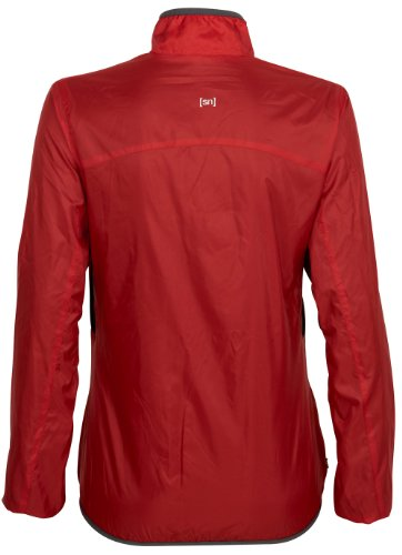 Super Natural Mantis Veste de marche pour femme Rouge - Orange