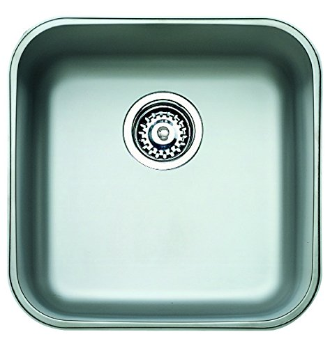 "Teka BE 40.40 - Fregadero (403 x 403 mm, 18 cm, 8,89 cm (3.5""))"