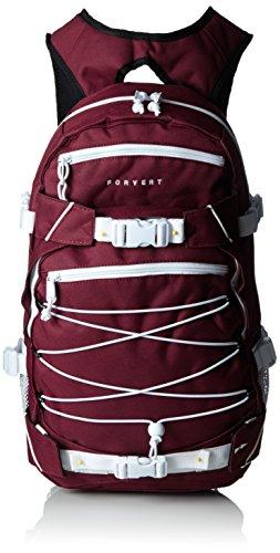 FORVERT Backpack Ice Louis, Rot(Burgundy), 50.5 x 26.5 x 12 cm, 19.5 Liter, 880229