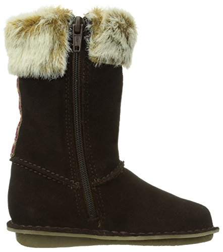 Clarks Snugglefolkinf, Chaussons fille Marron (Brown S)