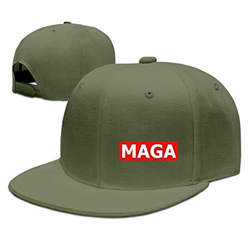 Preisvergleich Produktbild Miedhki MAGA Baseball Deckel Flat Bill Hat Snapback Hats Design7
