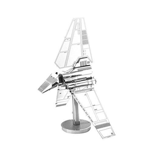 Fascinations Metal Earth MMS259 - 502653, Star Wars Imperial Shuttle, Konstruktionsspielzeug, 2 Metallplatinen, ab 14 Jahren