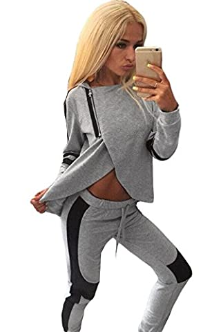 Two-piece Hooded Casual Sweat Suit Leggings Set Pants Set Club