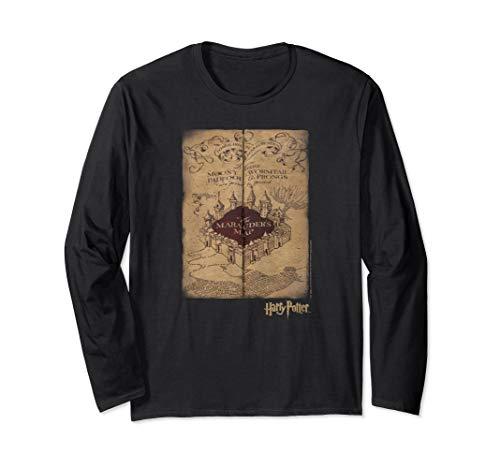 Harry Potter Marauder's Map Langarmshirt -
