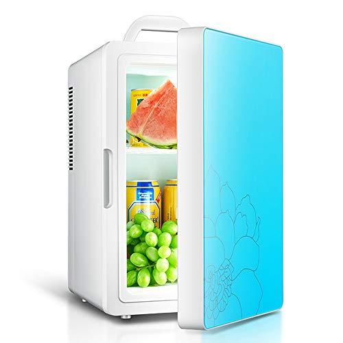 YONG FEI Auto Refrigerator-16L Auto Kleiner Kühlschrank Tragbares Auto Zu Hause Mini-Kühlschrank mit doppeltem Verwendungszweck Studentenwohnheim Einzelner kleiner heißer und kalter Kühlschrank Mini-K