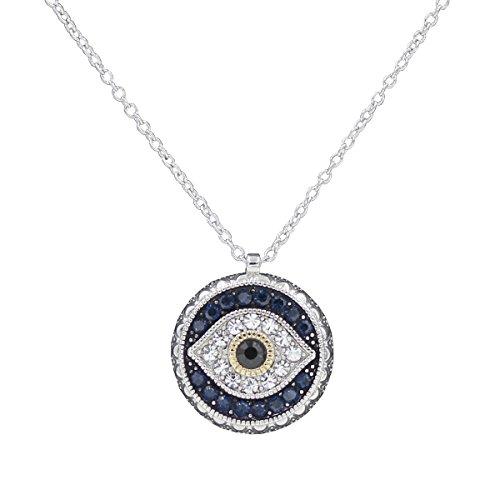c5f9483b6e687 WMAOT Bijoux Fantaisie Evil Eye Bracelet Collier Pendentif Boucles  d'oreilles Mauvais Oeil Style Turquie Talisman Cadeau Idéal
