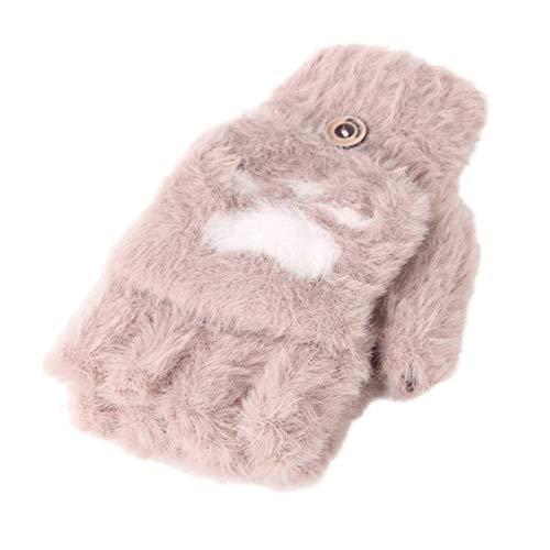 DJLHNToddler Baby Winter Warm Knit Convertible Flip