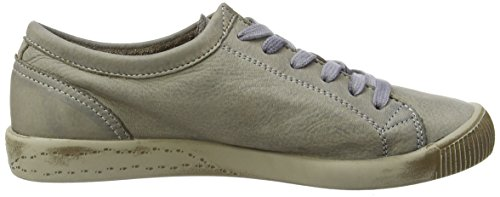 Softinos Isis washed leather, Derbies à lacets femme Beige - Beige (Taupe)