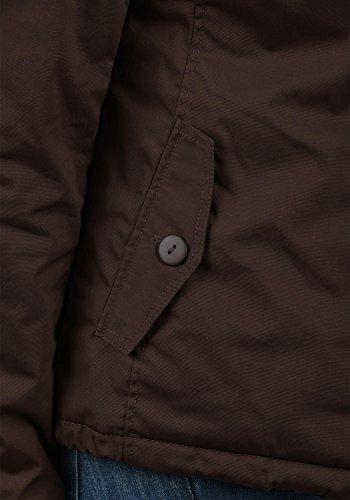 DESIRES Tilda Damen Übergangsjacke Jacke gefüttert mit Kapuze, Größe:XS, Farbe:Coffee Bean (5973) - 6