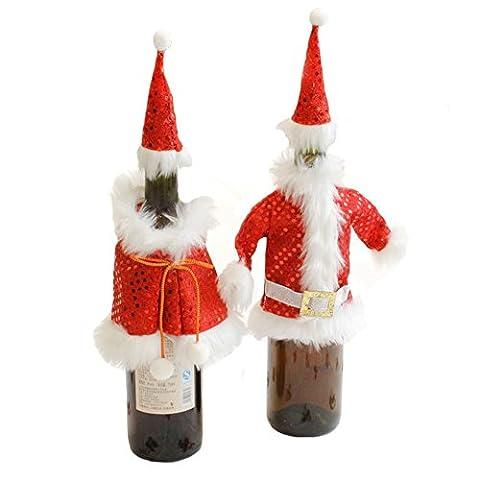 Idées Pour Maison Elf Costumes - 1 paire Porte-bouteille de vin Couverture de