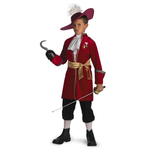Captain Hook - Size: Child M(7-8)
