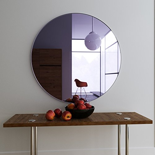 Replica Glass Decorative Mirror - (18 X 18 Inches, Glass)