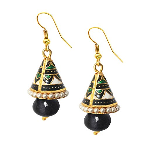 Women's Fashion Jewellery Ethnic Meenakari Design Earring  available at amazon for Rs.115