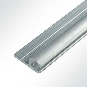 lysel aluminium kederschiene vorzeltkederschiene 15x30mm 2 meter k che haushalt. Black Bedroom Furniture Sets. Home Design Ideas