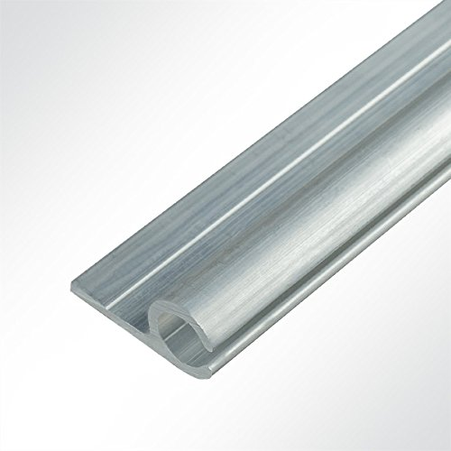 LYSEL Aluminium Kederschiene Vorzeltkederschiene 15x30mm 2 Meter