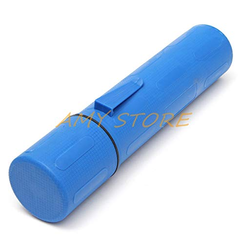 DIPU WULIAN 80 x 85 x 380mm Blue 10LB 4.5KG Rod Guard Welding Weld Electrode Rod Storage Hanging Tube Container Hold Cannister -