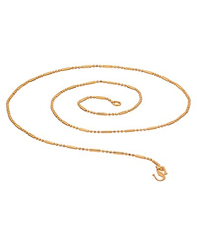 GEMSHOP STUNNING GOLD TONED CHAIN
