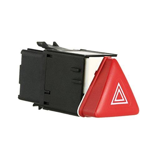 Preisvergleich Produktbild KKmoon Auto Hazard Warning Lichtschalter Notfall Flasher Kippschalter für VW Golf 5 GTI Sagitar 2005-2009-1K0953509A