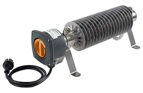 Ri-Ro's Rippenrohrheizung - Frostwächter (500 Watt) H 53-5 - Edelstahl mit Kabel und Stecker
