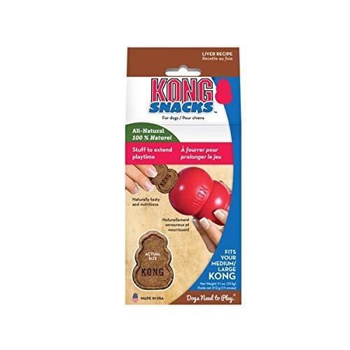 B-Creative Treats Stuff N Snacks Paste für Hundewelpen, Kekse, Leber, Huhn, Reis, Käse, (Snacks, Leber, Small) -