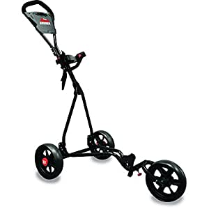 Longridge Kids' Cruiser 3 Wheel Golf Trolley - Black