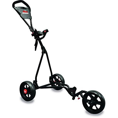 Longridge Chariot Junior 3 Roues Ajustable Golf Noir/Rouge