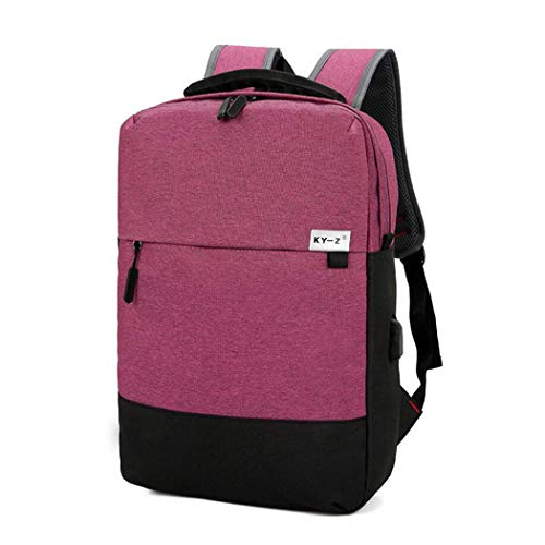 USB Charging Backpack College Student Bag Men's Nylon Cloth Computer Bag Casual Backpack - Computer Credit Card Processing