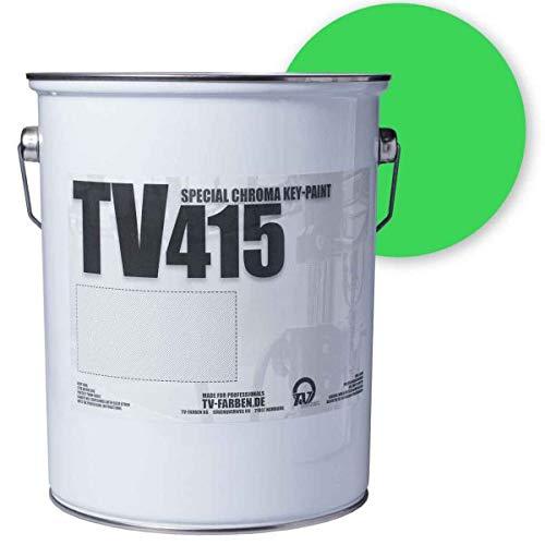 Keyfarbe TV415 Digital Ultimatte Green 2,5l | Chroma-Key-Farbe | Greenscreenfarbe Chroma Green Screen