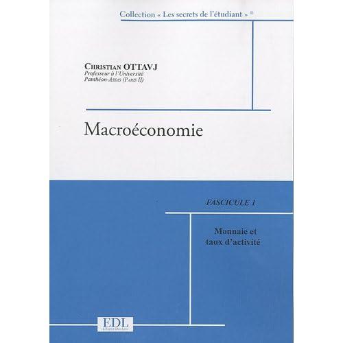 Macroéconomie : 2 volumes