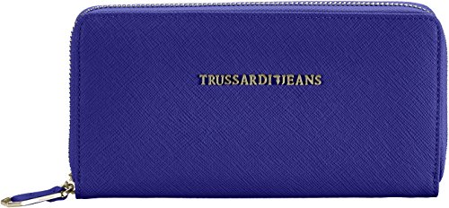 trussardi-75pp0153-portafoglio-donna-blu-blue-red-19x10x3-cm