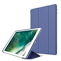 Yooap iPad Case 9.7 Inch 2017/2018, Ultra-slim Lightweight Smart Case Trifold Stand Cover with Translucent Frosted Back Protector Auto Sleep/Wake for Apple New iPad 9.7 inch iPad 6/iPad 5.