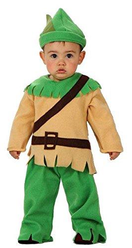 Déguisement robin des bois bébé - 0-6 (Bois Kostüm Robin Des)