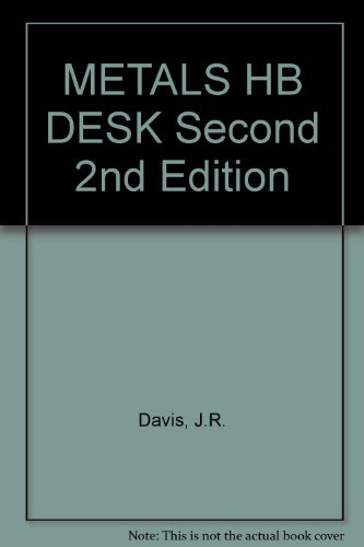 METALS HB DESK Second 2nd Edition
