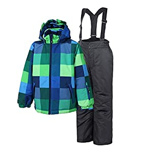 Color Kids Jungen Schneeanzug Dikilu Ski Set Blue Sea