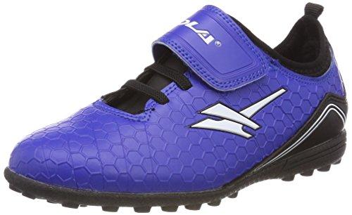 Gola Apex Vx Velcro, Unisex-Kinder Fußballschuhe, Blau (Blue/black/white), 26 EU (8 Child UK)