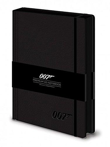 Preisvergleich Produktbild James Bond 007 Logo Premium Notizbuch mit Hardcover im Lederlook