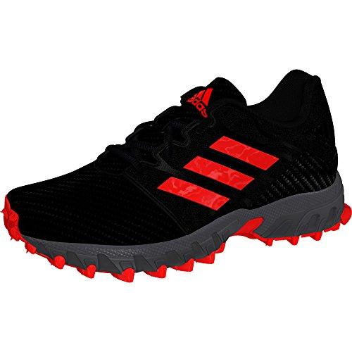 timeless design dfe7b 54290 adidas Chaussures de Hockey Lux Junior, Noir, 38 2 3