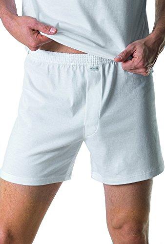 Ammann Herren Boxershort Basic Cotton 655962 Grau