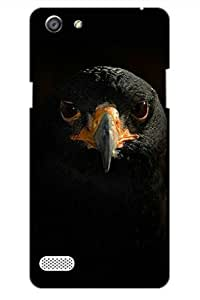 AMAN Crow 3D Back Cover for Oppo Neo 7