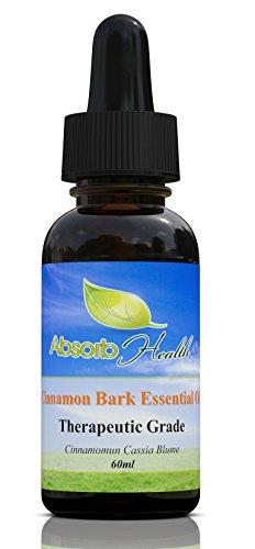 Zimt Rinde ätherisches Öl | Warmer und würziger Aroma | Therapeutische Grade | stark haftend Unzen,, 60 (Rinde Frei)