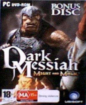Dark Messiah Pc Dvd - DARK MESSIAH OF MIGHT AND MAGIC PC