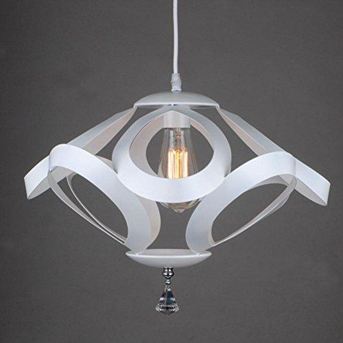 Il Ristorante Geometria Del Soffitto / Interni Decorativo Battuto Lampadario In Ferro , White 420*H290Mm,white 420*h290mm