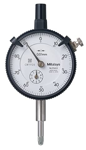 Mitutoyo 2046S 0.01 x 10mm Dial Indicator with 0 -100