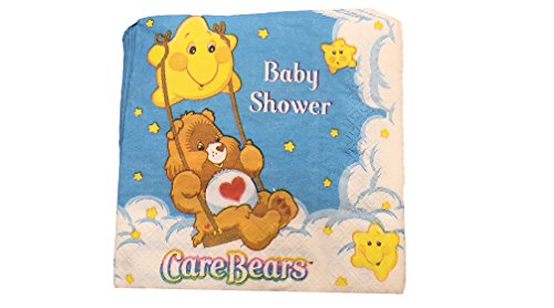 (Care Bear Baby Shower Lunch Napkins by Care Bears)
