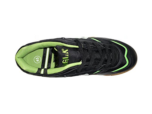AGLA , Chaussures pour homme spécial foot en salle Black/Green