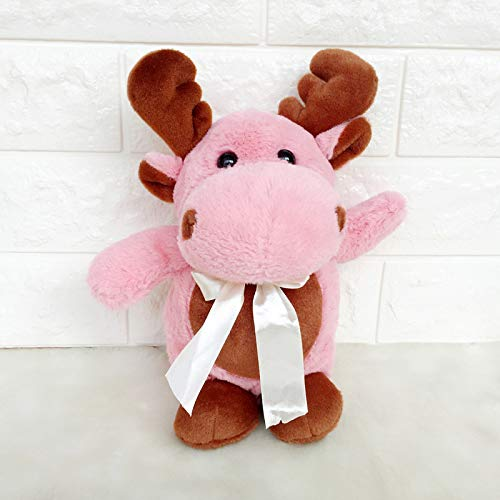 ahzha Weihnachten Hirsch Puppe Elch Plüsch Spielzeug Puppe Hochzeit Werfen Kleine Geschenk Greifen Maschine Puppe 25cm D -