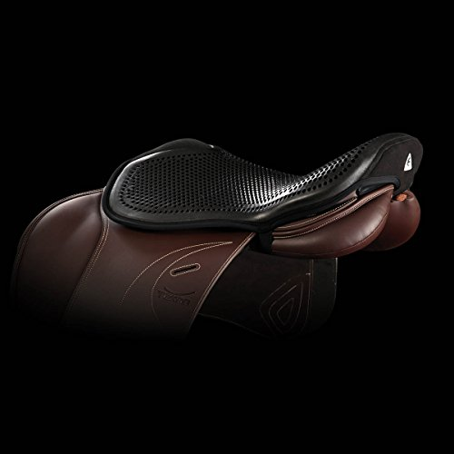 Acavallo Sitzpolster Gel Seat Saver Jump -Out- 10mm schwarz Gr. L