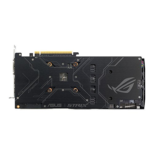 Asus ROG Strix GeForce GTX1060-6G Gaming Grafikkarte (Nvidia - 4