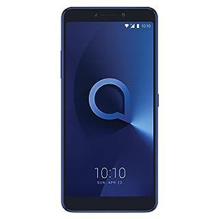 Alcatel 5099D-2AALWE2 15,24 cm (6 Zoll) 3v, Smartphone, 16GB Spectrum Blau