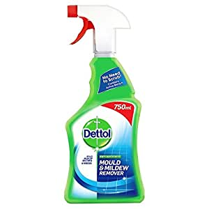 Dettol Anti-Bacterial Mould and Mildew Remover, 750 ml - Pack of 3